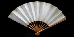 White Crane Fan.png