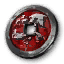 Icon for Scorching Sands Crimson Legion Insignia.