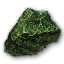 Quest darkgreen rock.png