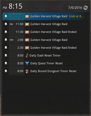 Golden Harvets Village Raid