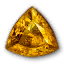 Icon for Triangular Citrine.