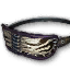 Icon for Cobalt Widow Striped Blindfold.