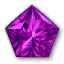 Icon for Pentagonal Amethyst.
