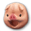 Icon for Pink Piglet.