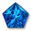 Icon for Pentagonal Sapphire.