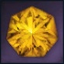 Icon for Heptagonal Citrine.