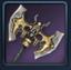 Icon for Golden Deva Axe.