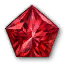 Icon for Pentagonal Ruby.
