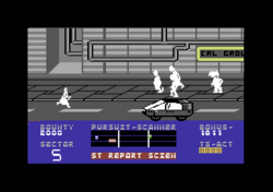 Blade Runner Commodore 64 screenshot and vehicles.png