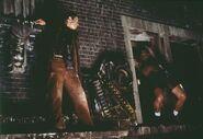 Roy chasing Deckard