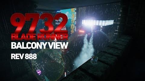 Blade Runner 9732 - Rain & Depth Of Field