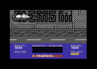 Blade Runner Commodore 64 screenshot about to land