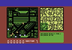 Blade Runner Commodore 64 screenshot there are four replidroids.png