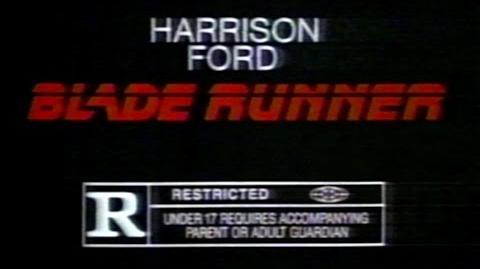 1982 - Commercial - Blade Runner w Harrison Ford