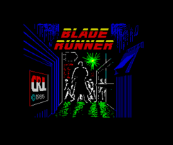 Blade Runner ZX Spectrum screenshot the best graphic of the game.png
