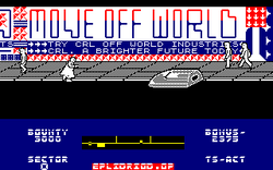 Blade Runner amstrad cpc screenshot another skimmer approaching.png