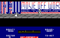 Blade Runner amstrad cpc screenshot there he is