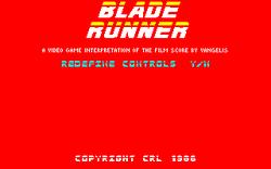 Blade Runner amstrad cpc screenshot startup.png