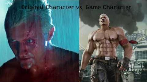 Bryan Fury(Tekken) and Roy Batty (Blade Runner) Original vs