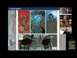 Blade Runner Comic Panel - Comic-Con@Home 2020