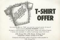 Blade Runner ZX Spectrum advertisement