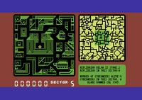 Blade Runner Commodore 64 screenshot inside your skimmer
