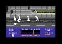 Blade Runner Commodore 64 screenshot dead
