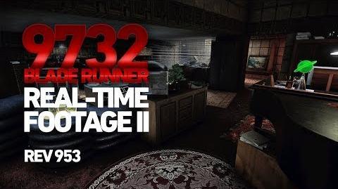 Blade Runner 9732 - Real-time Footage II