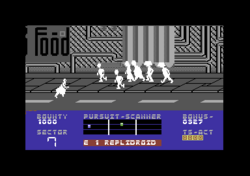 Blade Runner Commodore 64 screenshot watch out for people.png