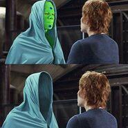 Hollow Man green man