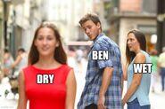 Soakin wet dry guy