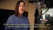 Blasphemous Meet the Cast - Laura Monedero