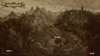 Screenshot Map of Cvstodia Travel Gates