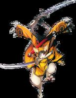 Jūbei (Centralfiction, Character Select Artwork)