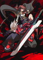 BlazBlue Phase 0 (Cover, Textless)