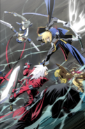 BlazBlue Continuum Shift Material Collection (Illustration, 101)
