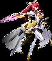 Izayoi (BlazBlue Cross Tag Battle, Character Select Artwork)