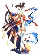 BlazBlue Continuum Shift Material Collection (Illustration, 28)