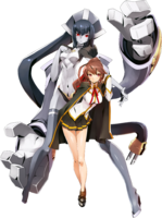 Celica A. Mercury (Centralfiction, Character Select Artwork)