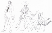 BlazBlue Phase 0 Characters (Concept Artwork)
