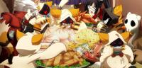 Taokaka (Centralfiction, arcade mode illustration, 3)