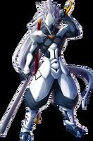 Hakumen (Chronophantasma, Character Select Artwork)