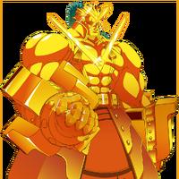 Golden Tager X (Story Mode Artwork, Normal)