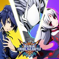 BlazBlue Cross Tag Battle DLC (promotional material, Naoto Shirogane, Vatista , Hakumen)