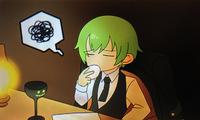 Hazama (Clonephantasma, Story Mode Illustration)