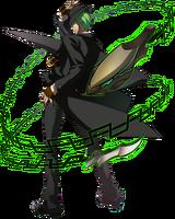 Hazama (Story Mode Artwork, Pre Battle)