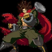 Bang Shishigami (Story Mode Artwork, Pre Battle)