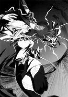 BlazBlue Phase 0 (Black and white illustration, 8)