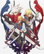 BlazBlue Continuum Shift Material Collection (Illustration, 13)