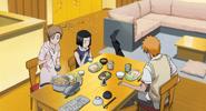 Jh Yuzu, Karin i Ichigo zasiadają do stołu